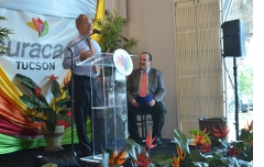 At the opening of Curacao.