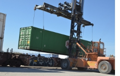 Touring Tucson's inland port.