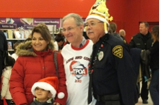 At TPOA's Kids & Cops Christmas 2012.