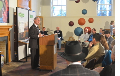 Speaking at a SciTech press conference hosted by the Children's Museum Tucson.