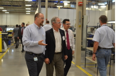 Touring Sargent Aerospace & Defense.