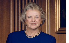 Former Supreme Court Justice Sandra Day O'Connor.