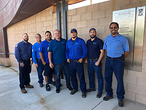 Tucson Water Zanjero team